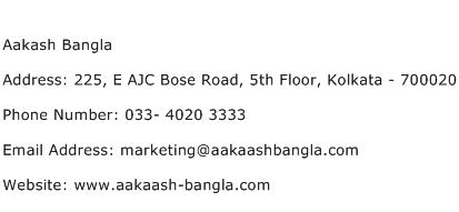 Aakash Bangla Address Contact Number