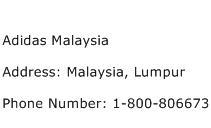 Adidas Malaysia Address Contact Number