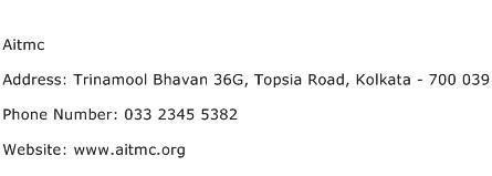 Aitmc Address Contact Number