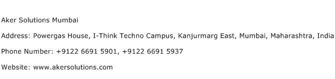 Aker Solutions Mumbai Address Contact Number