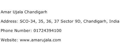 Amar Ujala Chandigarh Address Contact Number