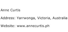 Anne Curtis Address Contact Number