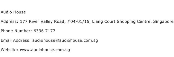 Audio House Address Contact Number