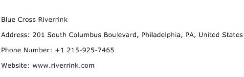 Blue Cross Riverrink Address Contact Number