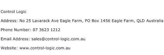Control Logic Address Contact Number