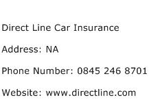 Direct Line Car Insurance Address Contact Number