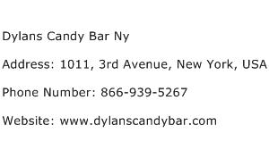 Dylans Candy Bar Ny Address Contact Number