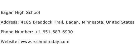 Eagan High School Address Contact Number
