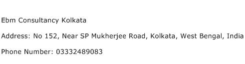 Ebm Consultancy Kolkata Address Contact Number