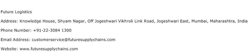 Future Logistics Address Contact Number