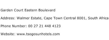Garden Court Eastern Boulevard Address Contact Number