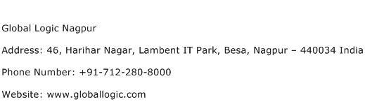 Global Logic Nagpur Address Contact Number
