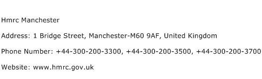 Hmrc Manchester Address Contact Number