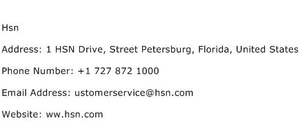 Hsn Address, Contact Number of Hsn