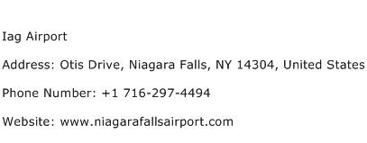 Iag Airport Address Contact Number