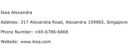 Ikea Alexandra Address Contact Number
