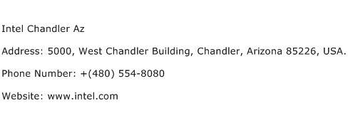 Intel Chandler Az Address Contact Number