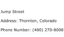 Jump Street Address Contact Number