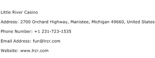 Little River Casino Address Contact Number