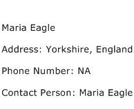 Maria Eagle Address Contact Number