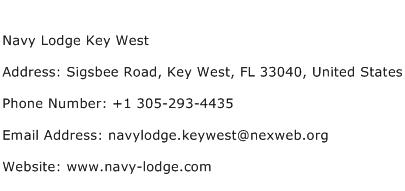 Navy Lodge Key West Address Contact Number