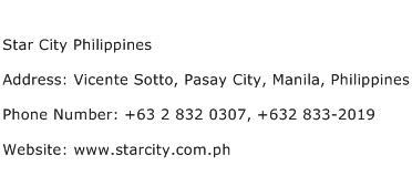 Star City Address