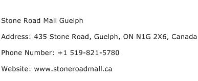 Stone Road Mall Guelph Address Contact Number