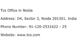 Tcs Office in Noida Address Contact Number