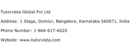Tutorvista Global Pvt Ltd Address Contact Number