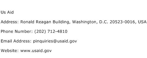Us Aid Address Contact Number